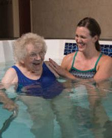 Aquatic Therapy at Martin Luther Campus